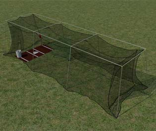 promounds backyard batting cage batting cages residential