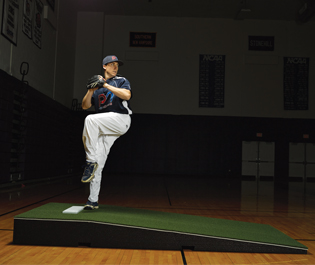 Promounds Practice Pitching Mound Collegiate With Clay