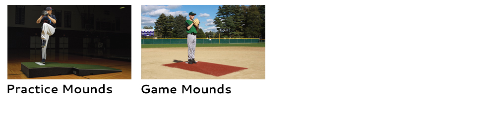 portable pitching mounds options